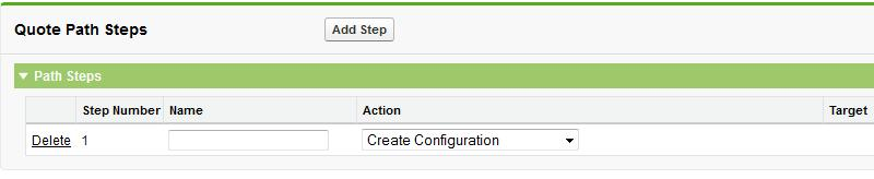 Steps are automatically assigned a number based on the order in which they were added. 5.
