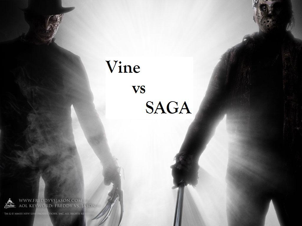 Vine vs SAGA Both: High-level abstraction for different distributed systems Shields details of lower level middle-ware and system issues SAGA: Driven from JavaGAT experience SAGA is an API that
