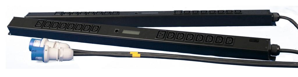 SmartZone Gateway-Enabled M Series Rack PDU Gateway-Enabled M (Monitored) Series PDUs manage and distribute power to multiple power devices through a single power connector.