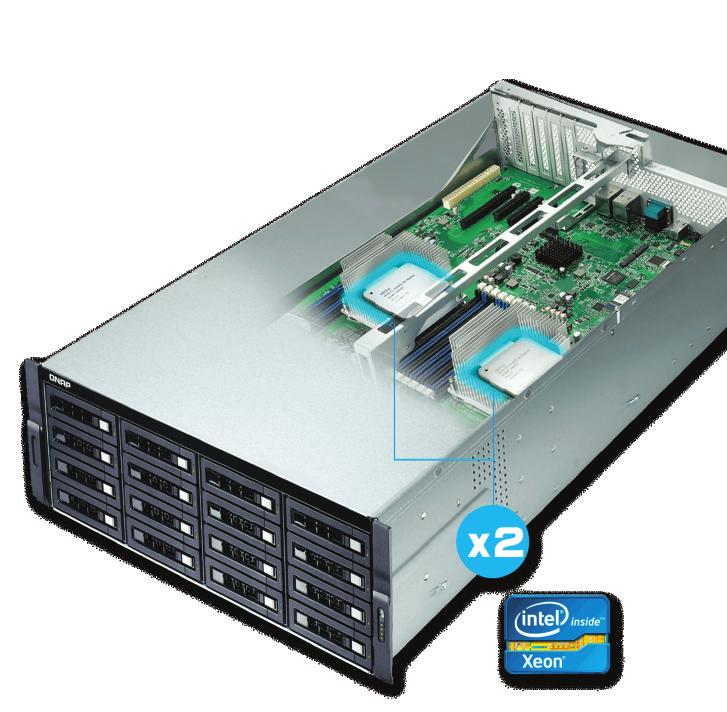 5 SAS (12Gbps) SSD or SAS/SATA (6Gbps/3Gbps) SSD; 4 x PCle slots; 4 x USB 3.