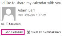 Once added, the shared calendar will display in the Calendar view under OTHER CALENDARS. Stop Sharing a Calendar (Owner) To stop sharing your calendar with someone: 1.