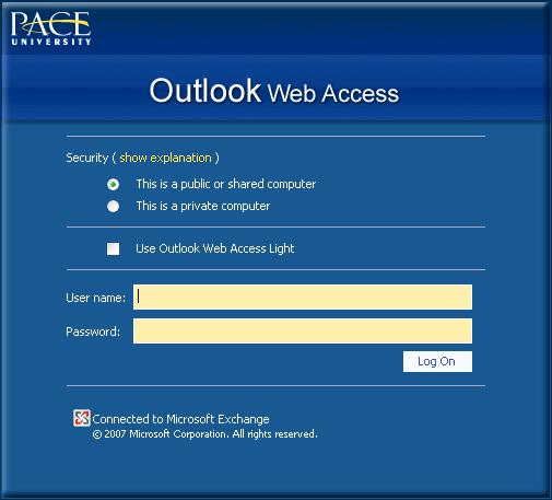 DRAFT COPY INTRODUCTION I. INTRODUCTION Microsoft Outlook Web Access is a Personal Information Manager. Outlook s purpose is to organize your entire desktop.