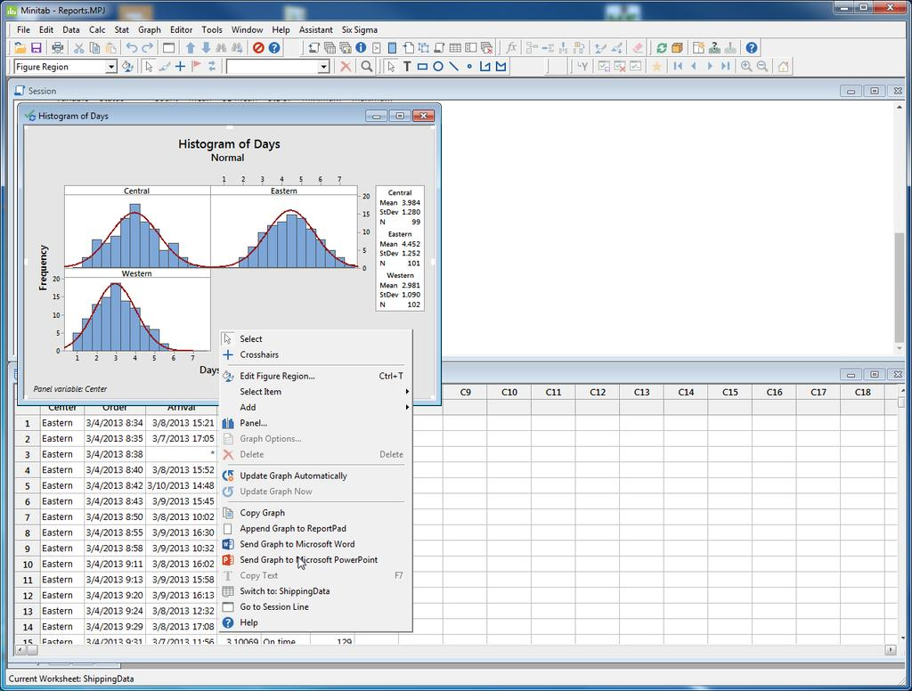 Getting started with minitab 18 pdf presenting results from minitab 7 presenting results from minitab overview to get the most from your nvjuhfo Images