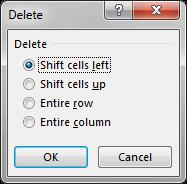 Delete content and Remove cells Users may also delete the contents from a cell and remove that cell from the sheet entirely.