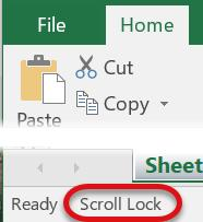 Navigate in Excel There are several different ways to navigate through the cells in Excel. Here are a few; Navigate to a cell by clicking on the cell with the cursor.
