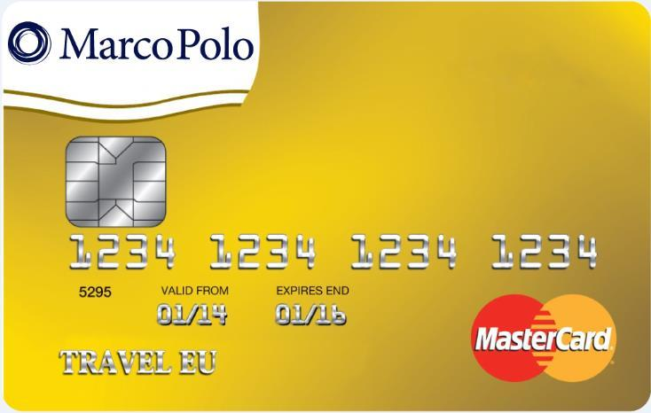 1. About Marco Polo Card Marco Polo Card is a prepaid card charged with EUR. Since it is not a credit card, there is no overdraft risk.