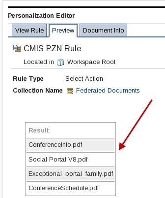 Now that you know the rule works correctly, you will reference this rule in a personalization