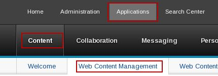 2 Create Personalization Component Using the Web Content Manager Authoring Portlet, we will create