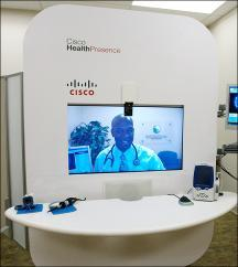 data to create virtual in-person doctor visit Effective and efficient clinical collaboration Immediate, real-time decision