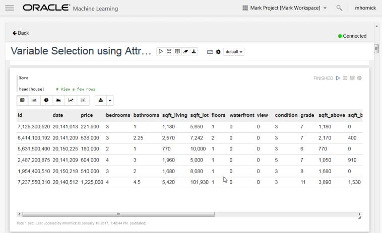 Oracle Machine Learning Multi-Platform, Multi-Engine Oracle Machine Learning for the Cloud Features Zeppelin-based Unifying Notebook UI Multiple backend servers, analytical