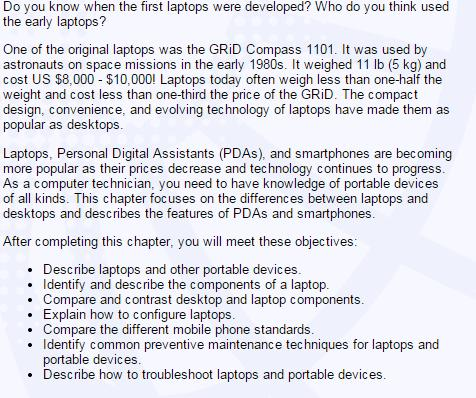Introduction of Laptops Dr.