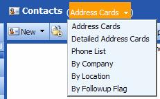 Outlook Web Access (OWA) PTHS District 209 You can also view your contacts and tasks by characteristics specific to those items. For example, you can view all completed tasks.