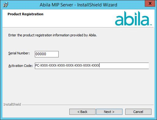 Server Install Activation Codes The activation code is determined by the system s license.