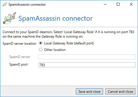 SpamAssassin is a free spam filter which contains different pre-defined tests to classify messages.