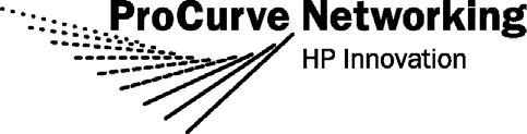 Release Notes: Version H.10.35 Software for the ProCurve Series 2600, 2600-PWR Switches For switches that use the H software versions, see Software Index for ProCurve Networking Products on page 6.