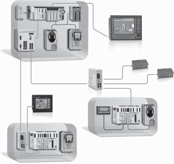 Wiring system Ethernet network 0 Infrastructure Presentation Schneider Electric offers copper and fi bre optic cables for connecting IP 0 and IP Ethernet devices.