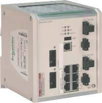 Description (continued) Modicon Quantum automation platform Quantum Ethernet I/O Modicon X0 NRP RIO drop optical repeaters, ConneXium managed switches BMX NRP 00p Modicon X0 Ethernet RIO drop optical