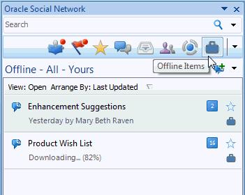 VIEW DETAILS FOR UNDERLYING SOCIAL OBJECTS A Social Object might include a link back to the associated record in the source system (for example, customer relationship management, enterprise resource