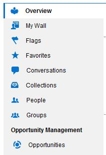 Oracle Social Network Navigation Menu See the Oracle Social Network help: Social Networking In > Oracle Applications Cloud UPLOAD DOCUMENTS FROM CLOUD DOCUMENT STORES If you have an account with a