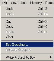12. SETTING AND CANCELING GROUPING Multiple channels can be grouped into each function box of gain, filter, compressor/noise gate, ARC filter, delay, and mute to make setting values within the group