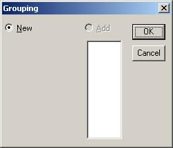 Under the condition that the box on the Flow view has been selected, grouping can be set or canceled on the menu. 12