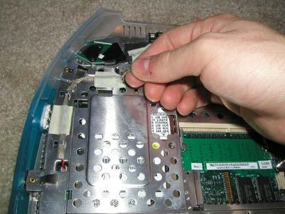 Stiffener Assembly Replacement Keyboard Trackpad Cd-Rom Modem Remove the speaker