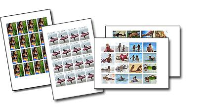 You can use all kinds of photos. You can also create 2-month, 6-month and 12-month calendars.