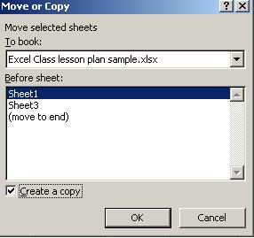 Delete, Add, Copy, Rename, or Move a Worksheets These option are found on lower left side of the spreadsheet Delete 1. Right click on the sheet to be deleted 2.