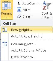Alternative: 1. Highlight the number of columns or rows to be inserted 2. Right click and choose Insert Increasing or Decreasing Column/Row Width or Length 1.