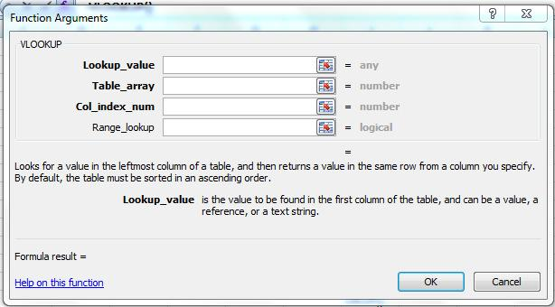 worksheets For the Table Array, include more rows than you need so new customers