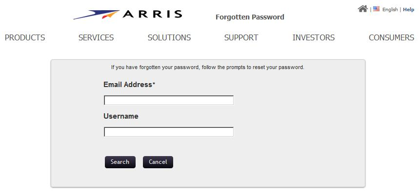 Chapter 2 Getting Started Resetting a Forgotten Password SLK Application Login The Forgotten Password page opens. Forgotten Password 3.