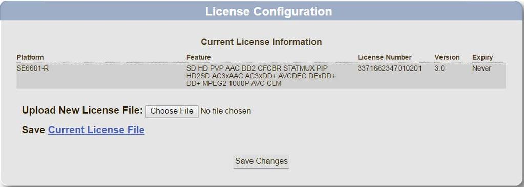 Chapter 5 Generating Permanent Licenses Generating Permanent Licenses for SE-6000 Series and ST-6000 Series Devices Download License File 14. Save the license file to a location of your choice.