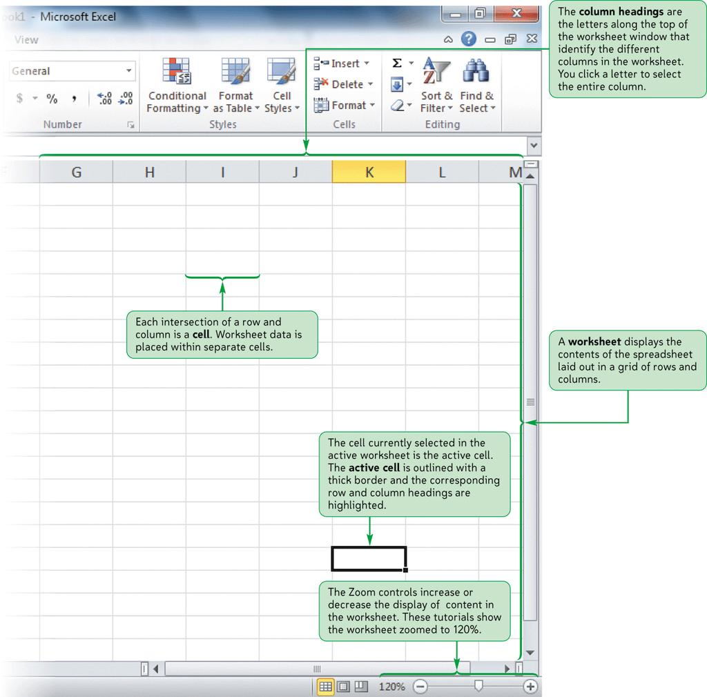 The Excel Window New