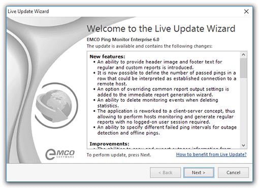 Program Updates Chapter 11: Program Updates EMCO Software cares for versatile needs of the users of EMCO programs and fully understands their wish to have the most up-to-date software installed on