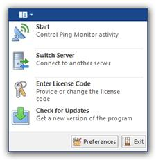 Program Interface Overview Application Menu The Application Menu invoked using the Application button is somewhat similar to the File menu in most programs that use a classic user interface, but it