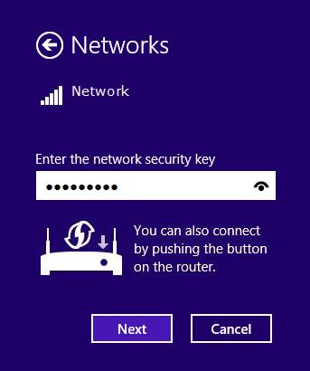 2. If the network is unencrypted, you will directly connect to it.