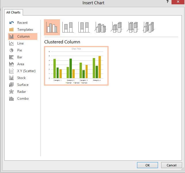 10 More Chart Options In the Introduction to PowerPoint class, we looked at how to add a bar graph to your slides.