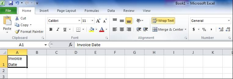 CREATE DOUBLE HEADINGS IN ONE CELL Use Alt+Enter between words in a cell places them on separate lines Column headings should be unique for certain Excel operations.