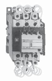 the current on closing to 60 In max. This current limitation at switchon increases the life of all the components in the installation, in particular that of the fuses and capacitors.