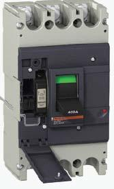 Easypact EZC Range EasyPact 0, EZC0 N/H EasyPact 0 molded case circuit breakers Compliance with IEC 9472, JIS C 8201, NEMA AB1 Breaking capacity at 415V: 36, ka Non adjustable thermal and magnetic