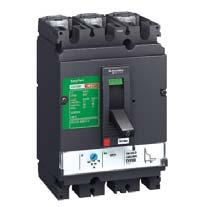 Molded Case Circuit Breaker Easypact CVS molded case circuit breakers Compliance with IEC 9472 Adjustable trip unit from 0.