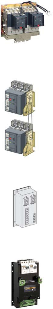 Automatic Source Changeover ATS Compact NS and Compact NSX Automatic source changeover system includes : 2 Circuit Breaker 3P or 4P electrical operated 2 Motor Mechanism 2 shunt trip coil Auxiliary