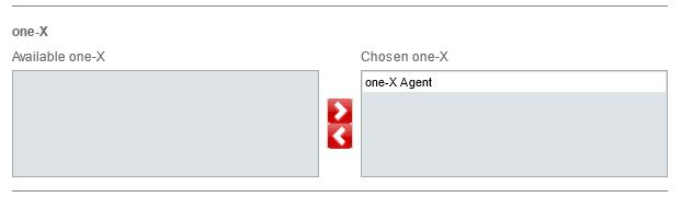 11. Repeat these steps for each location that you want to assign to the one-x integration.