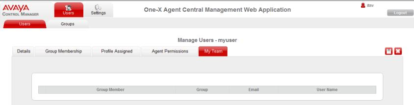 Field Time Between Client Configuration Save Minutes Description authenticate the agent and log on to Avaya one-x Agent.