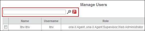 3. You can also search the users based on the roles.
