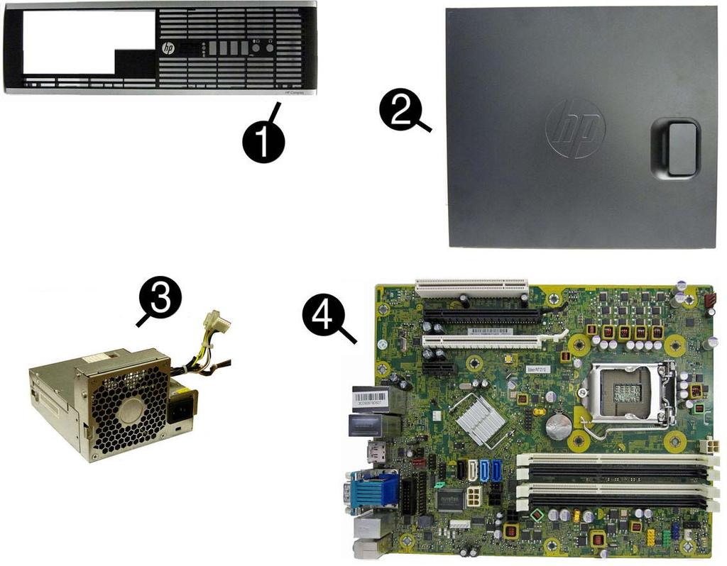 HP Compaq Business PC Maintenance and Service Guide - PDF