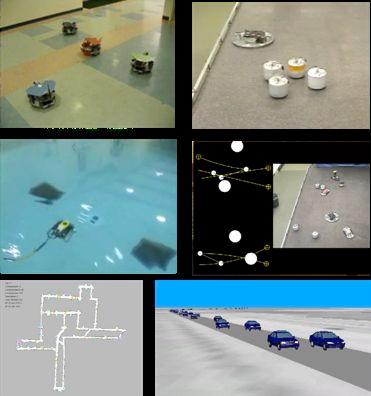 Past Projects! Complete and Scalable multirobot motion planning in tunnels! Formation Planning with Non- Holonomic Constraints!