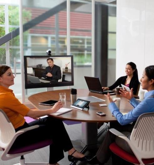 All-in-One TelePresence Solution Simple plug and play with