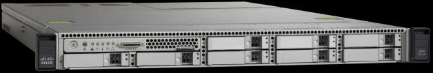 Medium Density (MD) Server: up to 4 UC applications + 1 Management application, 1000