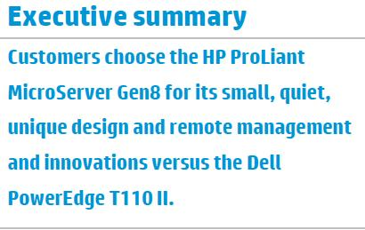 HP ProLiant MicroServer Gen8 Reviews Ideal first server for when you don t have a server room, yet.